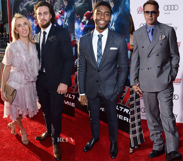 'Avengers Age Of Ultron' LA Premiere Menswear Roundup 22