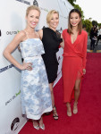 Anna Camp in Suno, Elizabeth Banks in Elie Saab and Jamie Chung in Mason by Michelle Mason