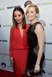Jamie Chung in Mason by Michelle Mason and Elizabeth Banks in Elie Saab