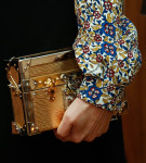 Alicia Vikander's Louis Vuitton clutch