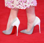Carey Mulligan's Christian Louboutin shoes