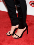 Cara Delevingne's Saint Laurent sandals