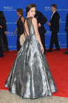 Bailee Madison in Rachel Allan Couture