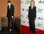 Amber Heard In Stella McCartney - 'The Adderall Diaries' New York Premiere