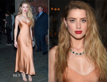 Amber Heard In The Row - 2015 Tiffany Blue Book Dinner