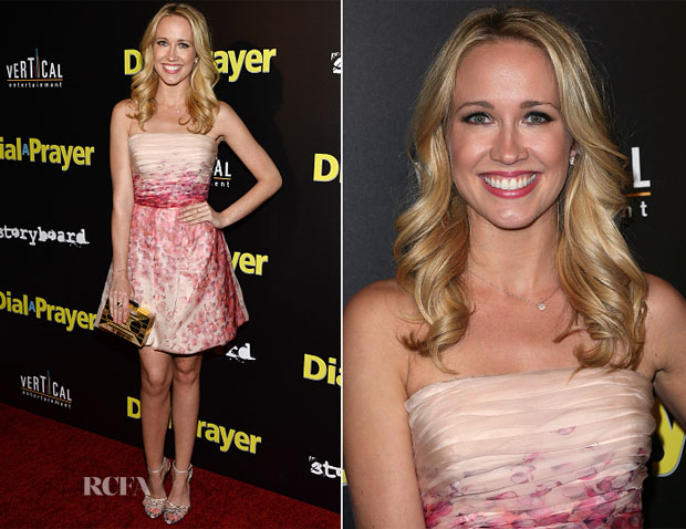 Anna Camp In Blumarine - 'Dial A Prayer' LA Premiere