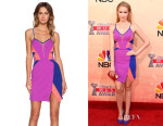 Anna Camp's Three Floor 'Iman' Dress