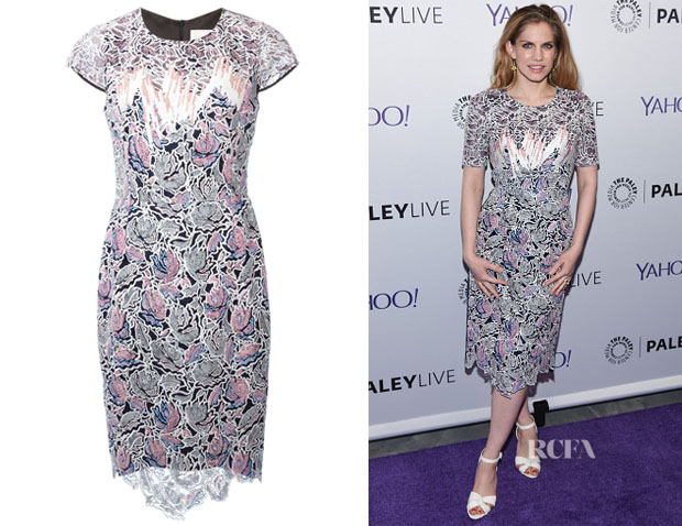 Anna Chlumsky's Peter Pilotto 'Vector' Dress