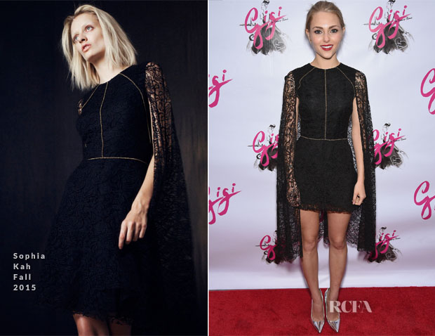 AnnaSophia Robb In Sophia Kah - 'Gigi' Broadway Opening Night