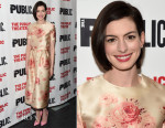 Anne Hathaway In Vilshenko - 'Grounded' Opening Night Party