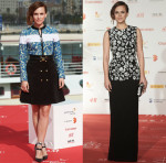 Aura Garrido In Louis Vuitton & Chrisitan Dior  - 2015 Malaga Film Festival