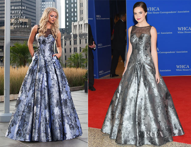Bailee Madison In Rachel Allan Couture - 2015 White House Correspondents' Association Dinner