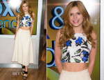 Bella Thorne In Milly & Alice + Olivia - Fox & Friends