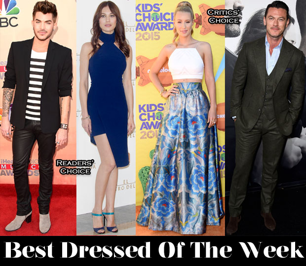 Best Dressed Of The Week - Olga Kurylenko in Mugler & Iggy Azalea in Temperley London