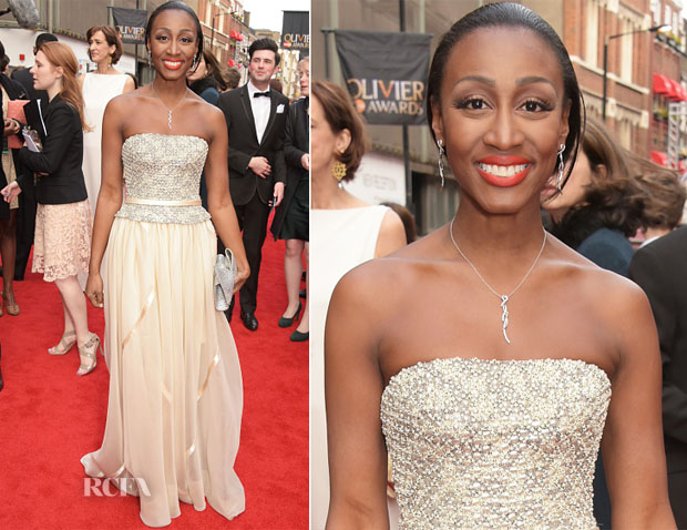 Beverley Knight In Bruce Oldfield - 2015 Olivier Awards