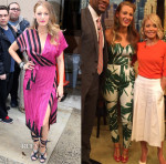 Blake Lively In Kristinit, Sam and Lavi, John Galliano, Cushine et Ochs, Zuhair Murad & Antonio Berardi - 'The Age of Adaline' New York Promo Tour