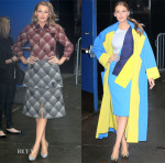 Blake Lively In Marc Jacobs & Roksanda - 'Good Morning America'