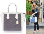 Blake Lively's Henri Bendel Rivington Canvas Tote