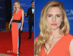 Brit Marling In Roksanda - 2015 White House Correspondents' Association Dinner