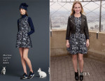 Britt Robertson In Markus Lupfer - Empire State Building Photocall