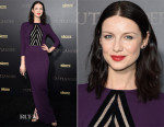 Caitriona Balfe In Roland Mouret - 'Outlander' New York Premiere