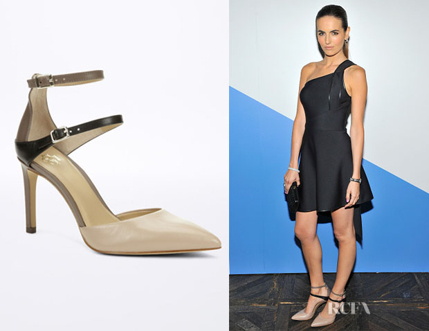 Camilla Belle's Ann Taylor 'Evelyn' Double Strap D'Orsay Heels