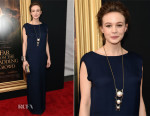 Carey Mulligan In Lanvin - 'Far From The Madding Crowd' New York Screening