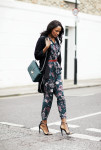 Topshop duster, Elie Saab bag, Topshop boilersuit and River Island sandals