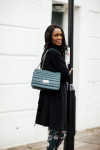 Topshop duster and Elie Saab bag