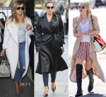 Celebrities Love...Trench Coats