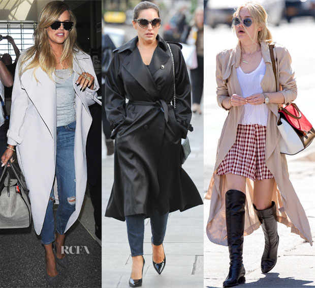 Celebrities Love Trench Coats