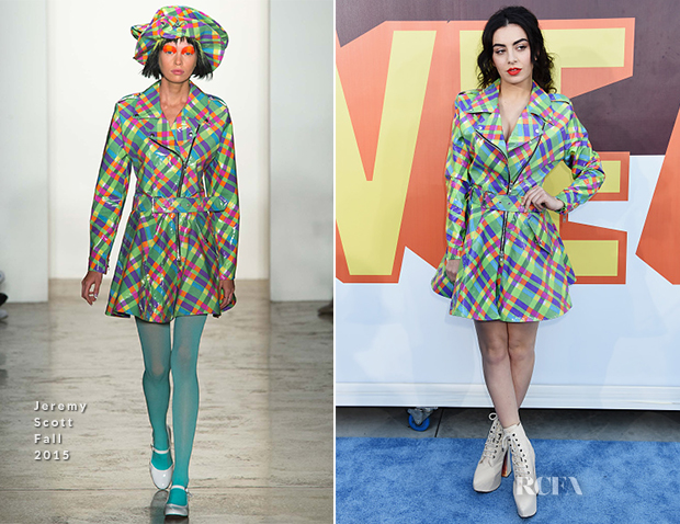 Charli XCX In Jeremy Scott - 2015 MTV Movie Awards