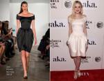 Dakota Fanning In Zac Posen - 'Franny' Tribeca Film Festival Premiere