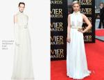 Dianna Agron In Alexander McQueen - 2015 Olivier Awards