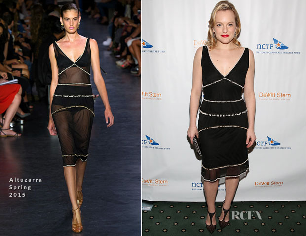 Elisabeth Moss In Altuzarra - National Corporate Theatre Fund's 2015 Chairman's Awards Gala