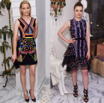 Elizabeth Banks & Gillian Jacobs In Peter Pilotto -  Peter Pilotto and Christopher de Vos Dinner Party