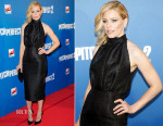 Elizabeth Banks In Emilia Wickstead - 'Pitch Perfect 2' Paris Premiere