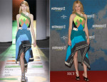 Elizabeth Banks In Peter Pilotto -  'Pitch Perfect 2'  Berlin Photocall