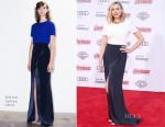Elizabeth Olsen In Galvan - 'Avengers: Age Of Ultron' LA Premiere