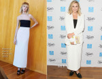 Elizabeth Olsen In Rosetta Getty & Chloé - Kiehl's 2015 Earth Day Project