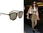 Emily Ratajkowski's Karen Walker 'Harvest' Sunglasses
