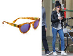 Emma Roberts' Westward Leaning 'Voyager 11' Sunglasses