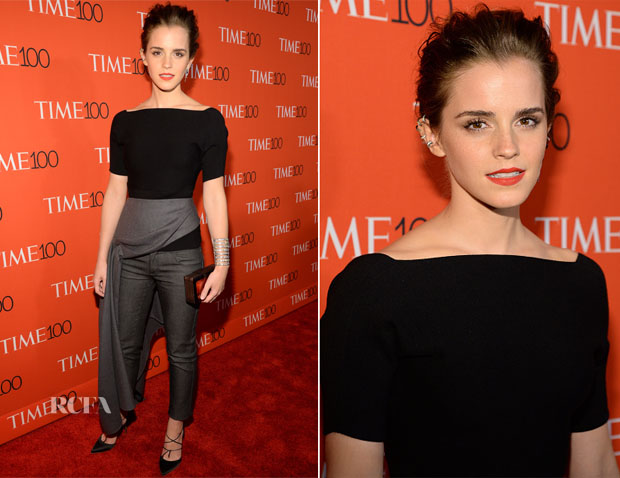 Emma Watson In Christian Dior - 2015 Time 100 Gala