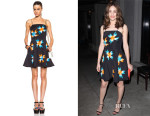 Emmy Rossum's Tanya Taylor 'Wanda' Dress