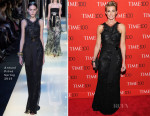 Faith Hill In Armani Privé - 2015 Time 100 Gala