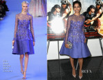 Freida Pinto In Elie Saab Couture - 'Desert Dancer' New York Screening