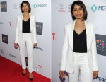 Freida Pinto In Monique Lhuillier - Women In World Summit