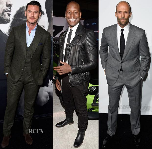'Furious 7' LA Premiere Menswear Roundup