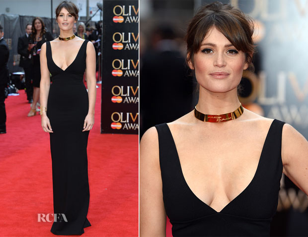 Gemma Arterton In Dsquared² - 2015 Olivier Awards