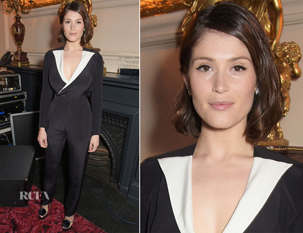 Gemma Arterton In Roland Mouret - 'La Fille Mal Gardee' Opening Night Performance